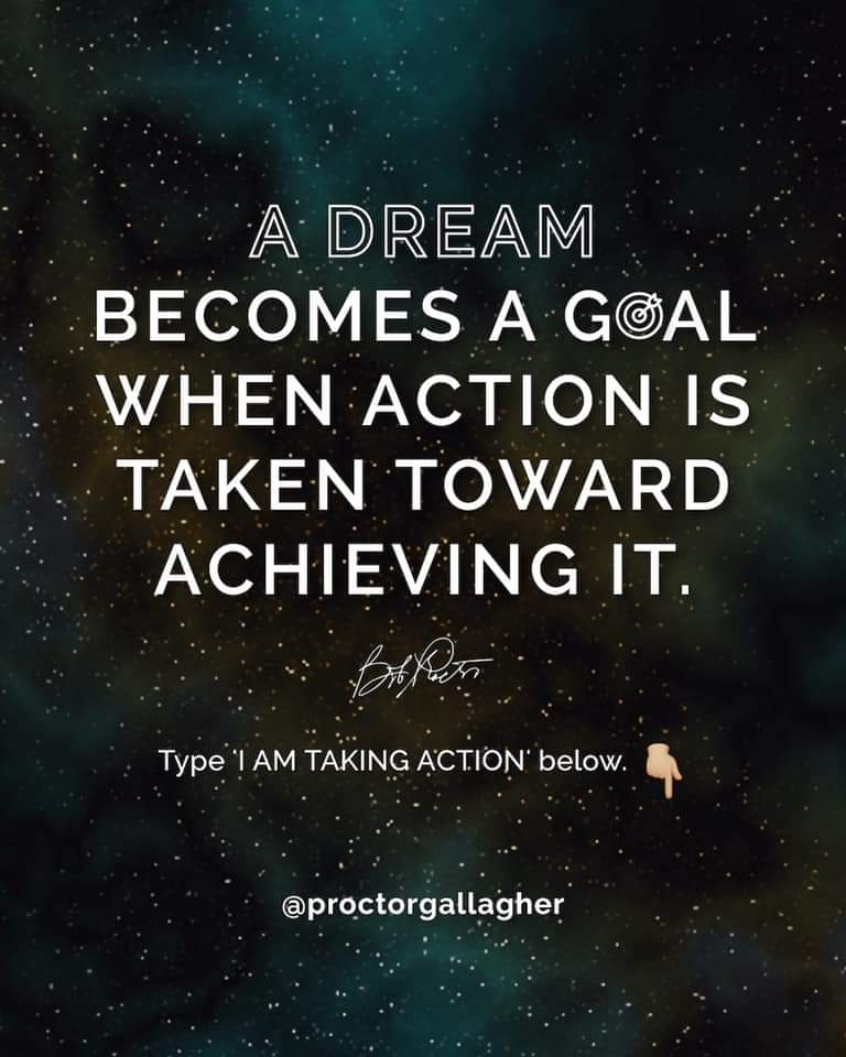 Taking Action On Your Dreams