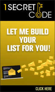 Let Me Build Your List For You