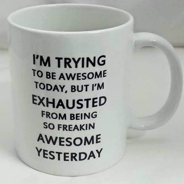 How Awesome Can You Be Today?